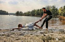 Trash the dress met Stefanie en Ferdinand