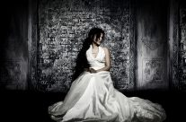 Studio weddingdress